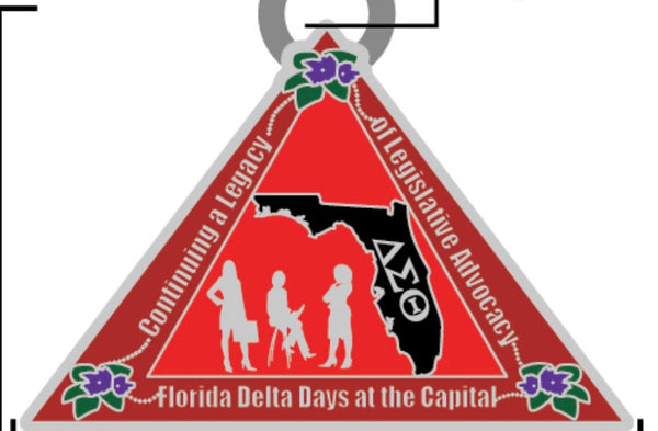 Florida Delta Day Charm 2020