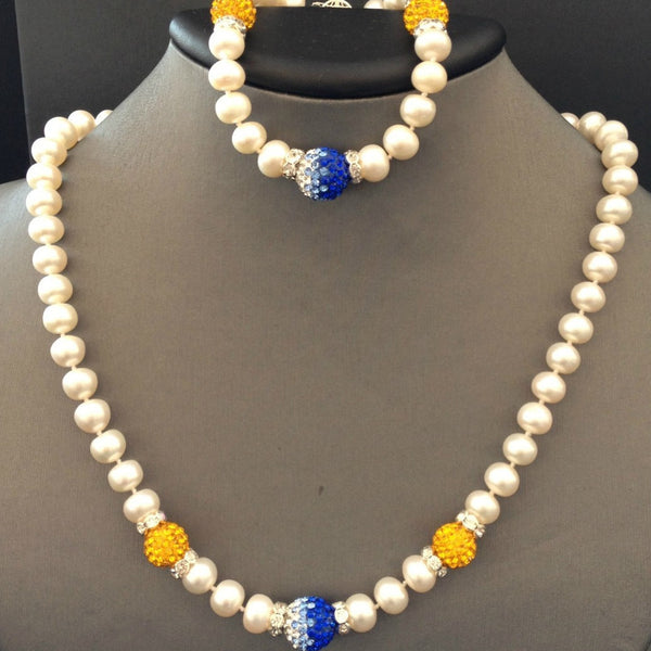 Sigma Gamma Rho  Necklace with Fireball ( bracelet not included)