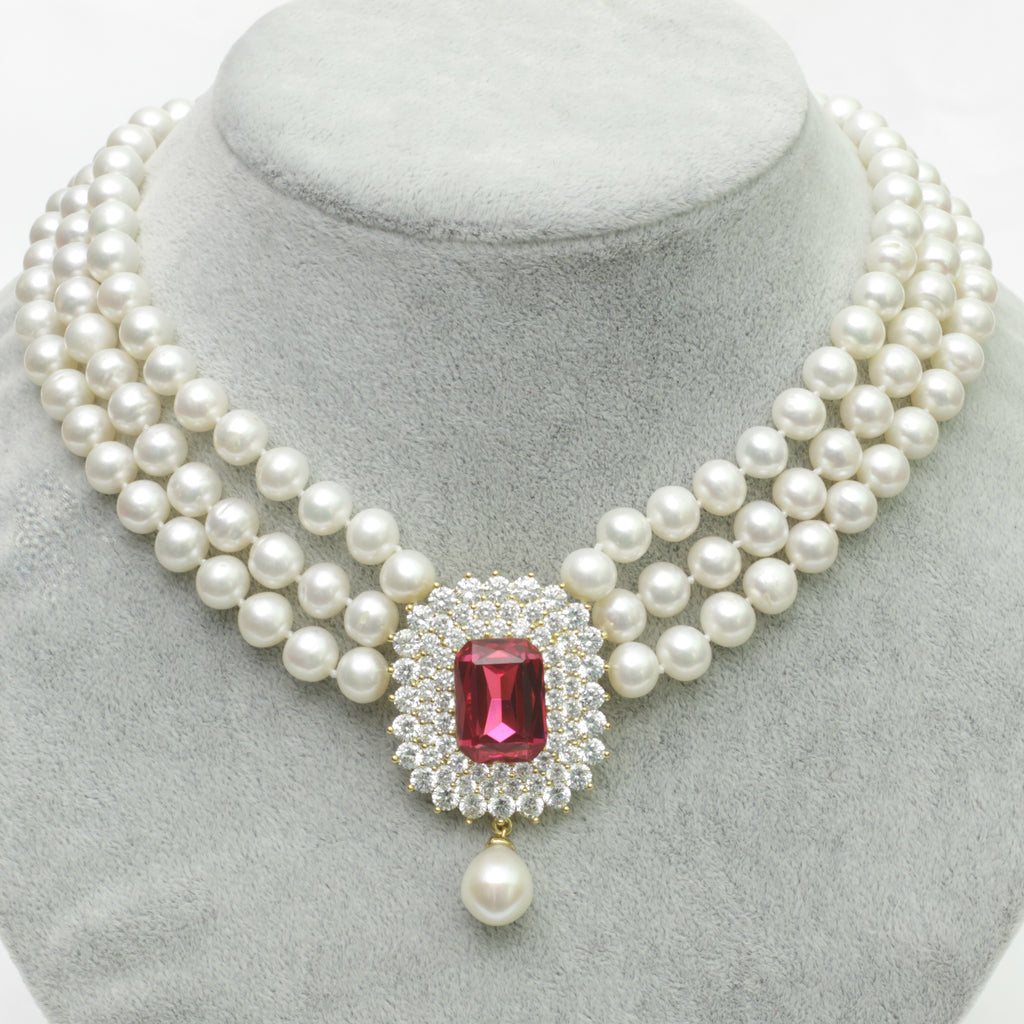 Empower Pearl Necklace