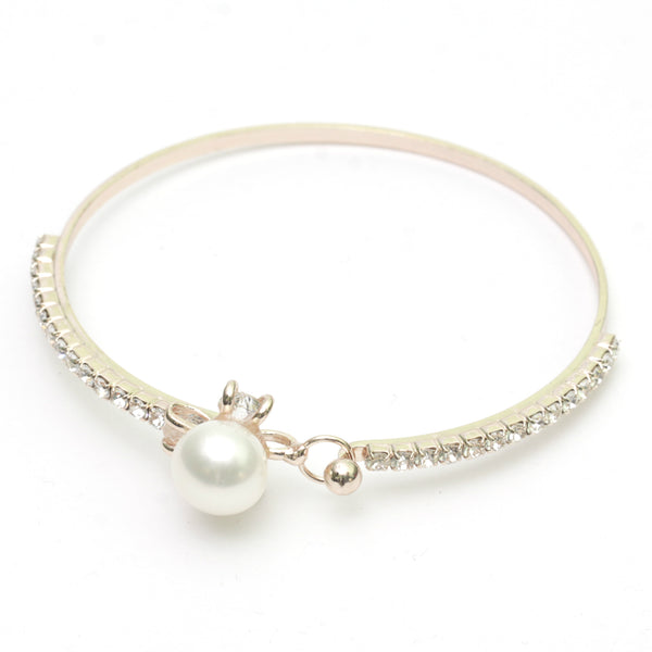 Rosegold Pearl Bangle