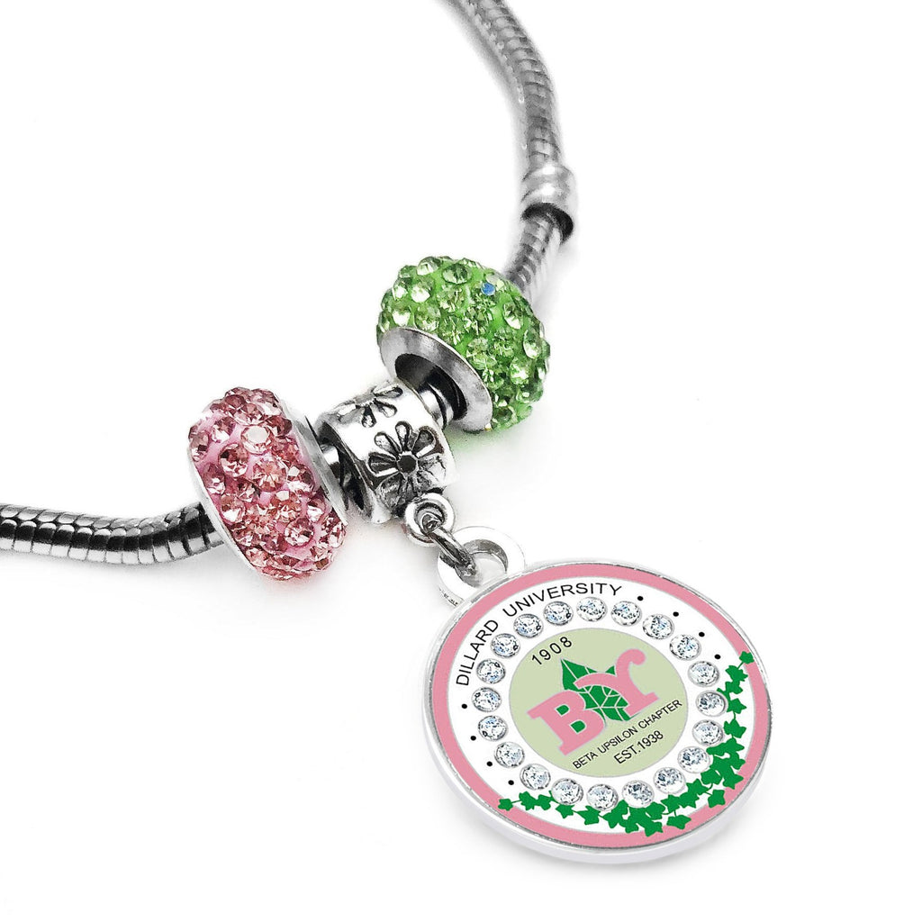 AKA Beta Upsilon Chapter Bracelet( Pre-order, Ships 1/31/2021 )