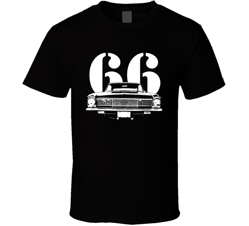 1966 Nova Grill Year T Shirt-Car Geek Tees