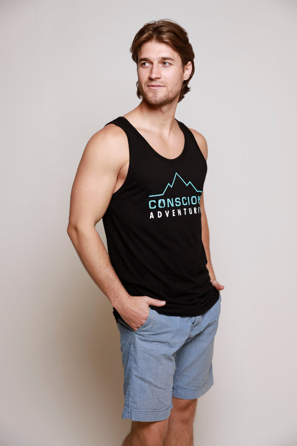 Men's Original Bamboo Tank - Black