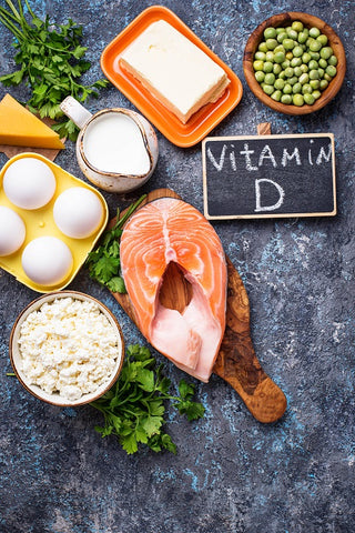 Vitamin D3 Food Salmon Egg Yokes Tuna fish Oil Eczema Treatment