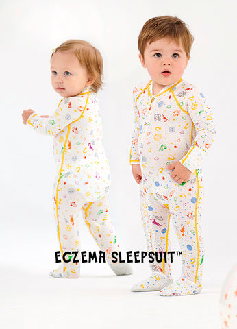 Eczema Baby Sleep Suit for infants and toddler