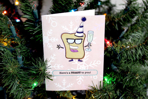 A TOAST- PUN PAL CARD