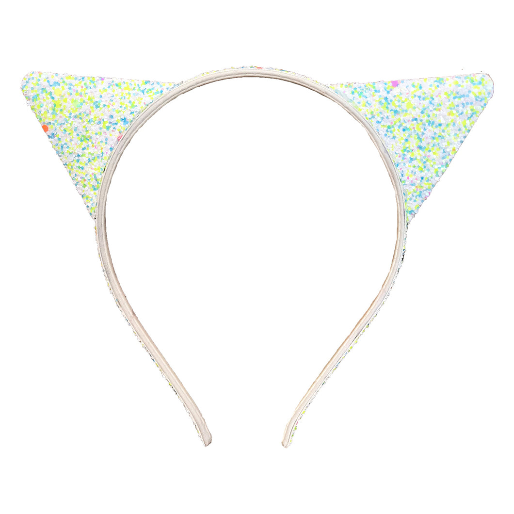 Green Cat Headband