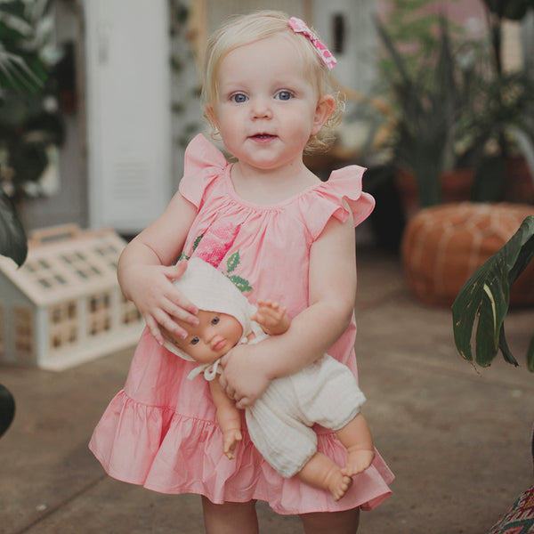 Peach Pippa Dress