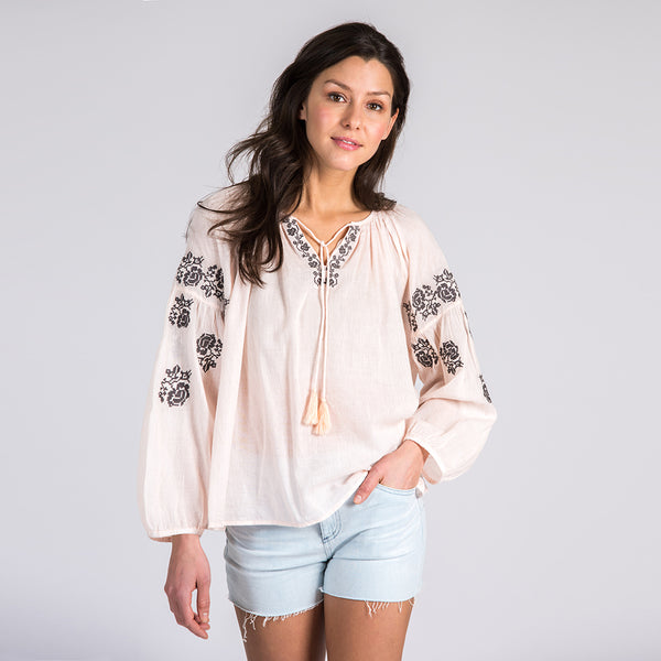 Blush Tulum Blouse
