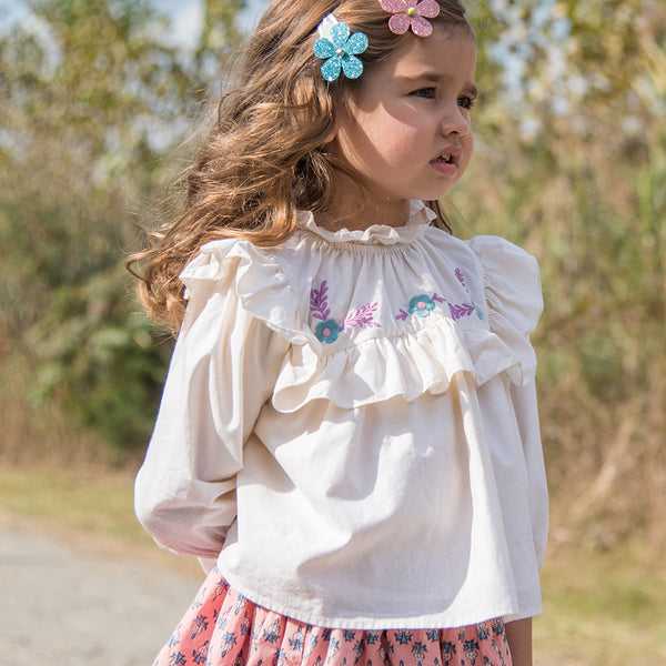 Bekka Blouse Cloud