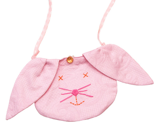 Pink Bunny Purse