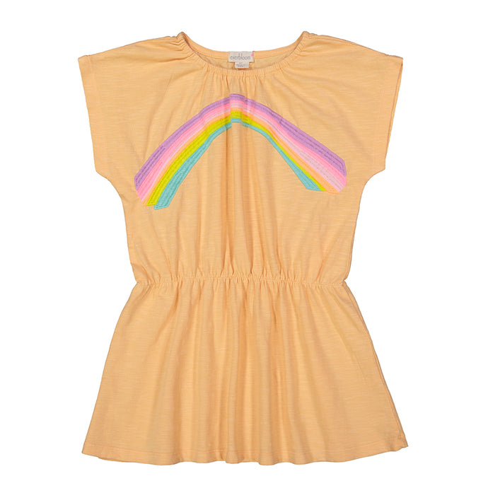 Rainbow Peony Dress