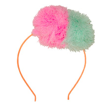 Bright Fuzzy Pompom Headband