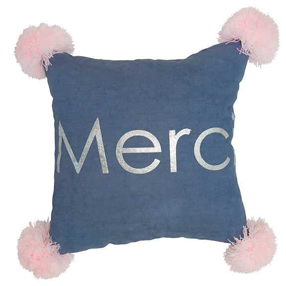 Merci Pillow Navy