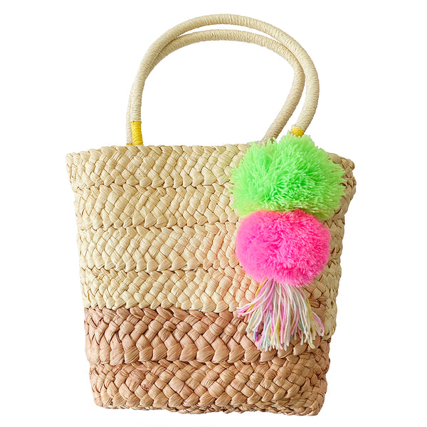 Straw Bag Green