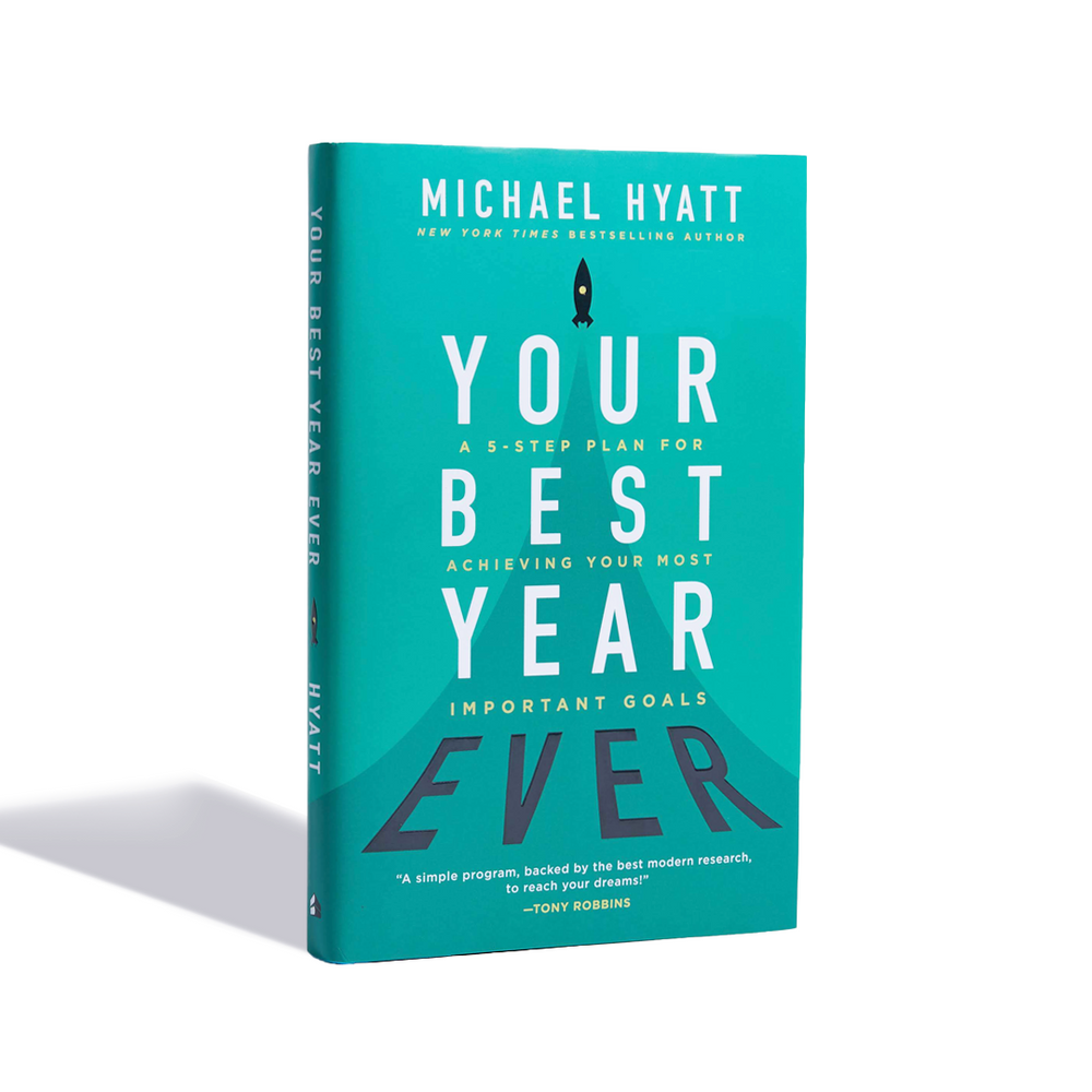 Your Best Year Ever: A 5-Step Plan for Achieving Your Most Important Goals (International Customers)