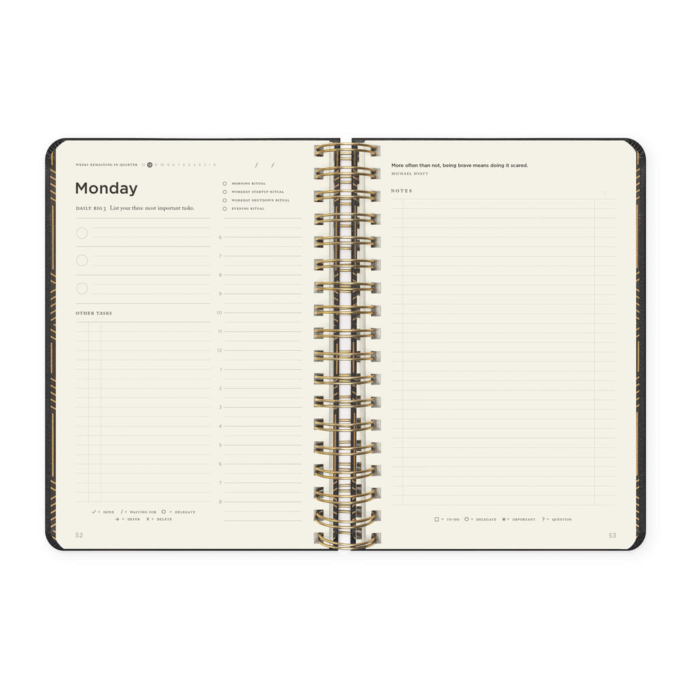 Full Focus Planner - Executive - Coil - Annual Subscription