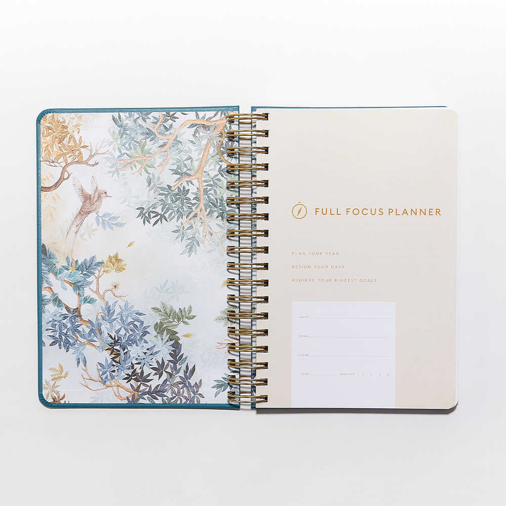 Full Focus Planner - Bold - Coil by Megan Hyatt Miller - Annual Subscription