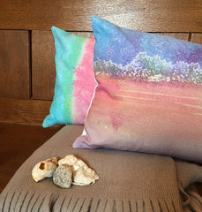 Handprinted and handmade bespoke cushions.