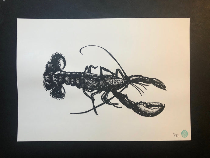 Legolas the Lobster Print (unmounted)