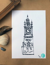 Margate Clock Tower Print.