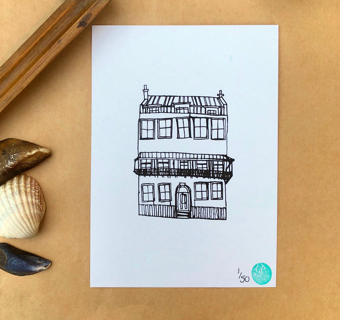 Albion House Print