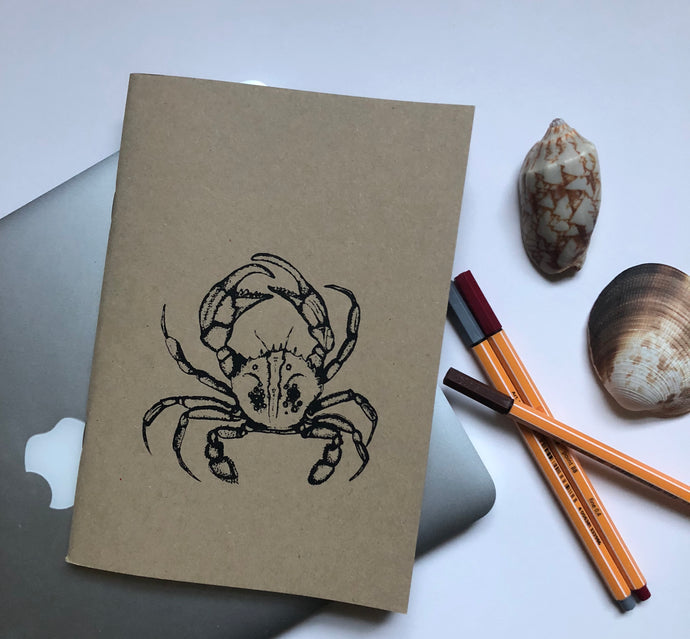 A5 Crab Sketchbook