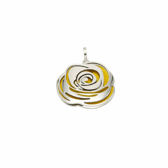 The Yellow Rose of Texas Pendant