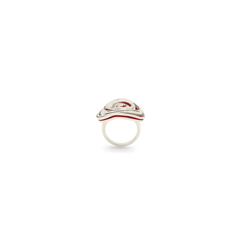 Rosso Rose Ring