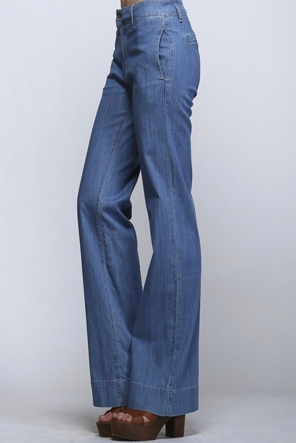 Denim Trouser - Bailey Sayge