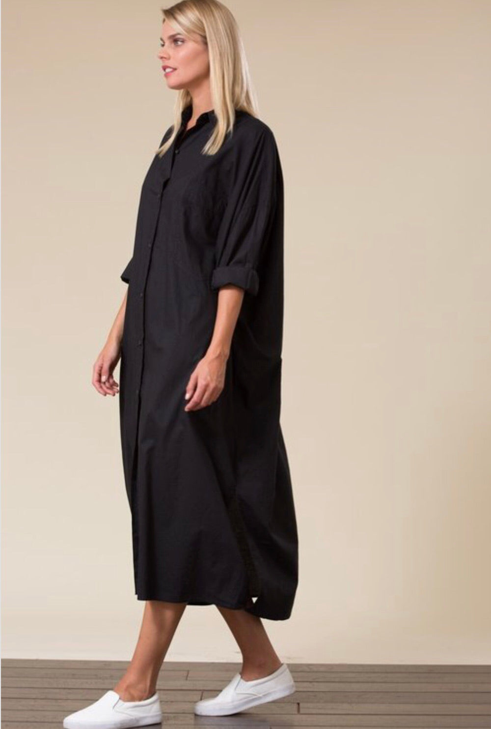 Long Shirt Dress - Bailey Sayge