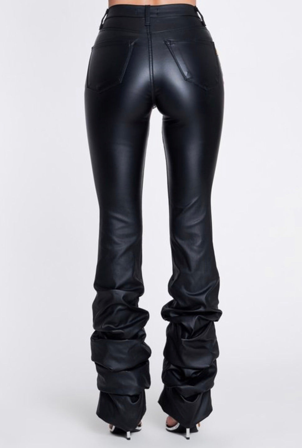 Show Off Vegan Leather Jeans