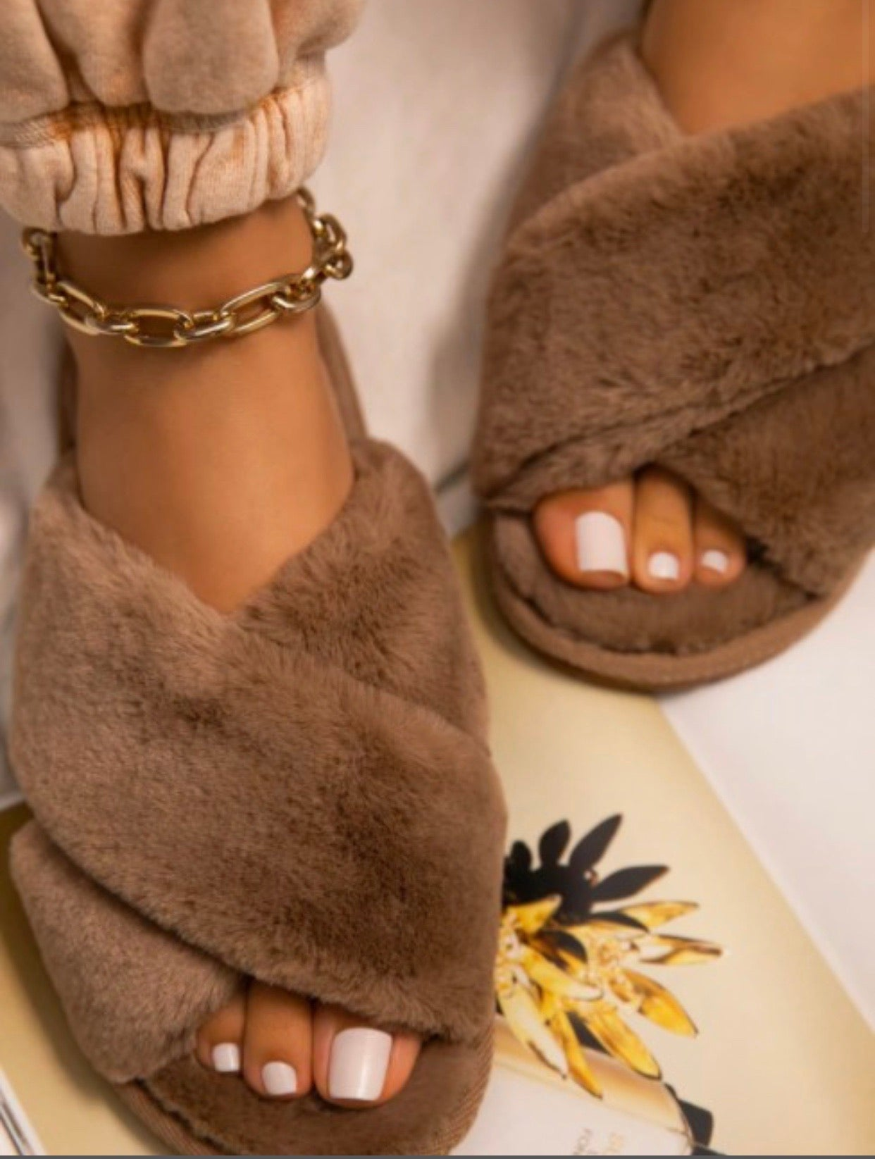 Teddy Slippers (Shoes)