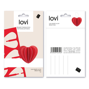 Heart by Lovi, S size card