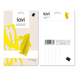 Rabbit by Lovi, M size card