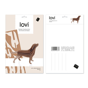 Labrador by Lovi, L size card
