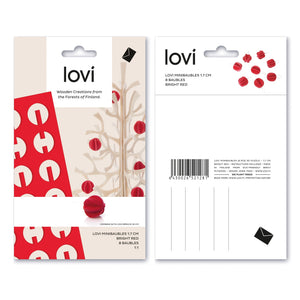 Minibaubles by Lovi 8pcs/set, S size card