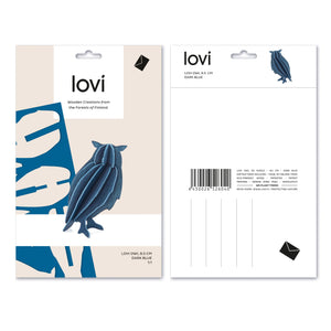Owl by Lovi, M size card