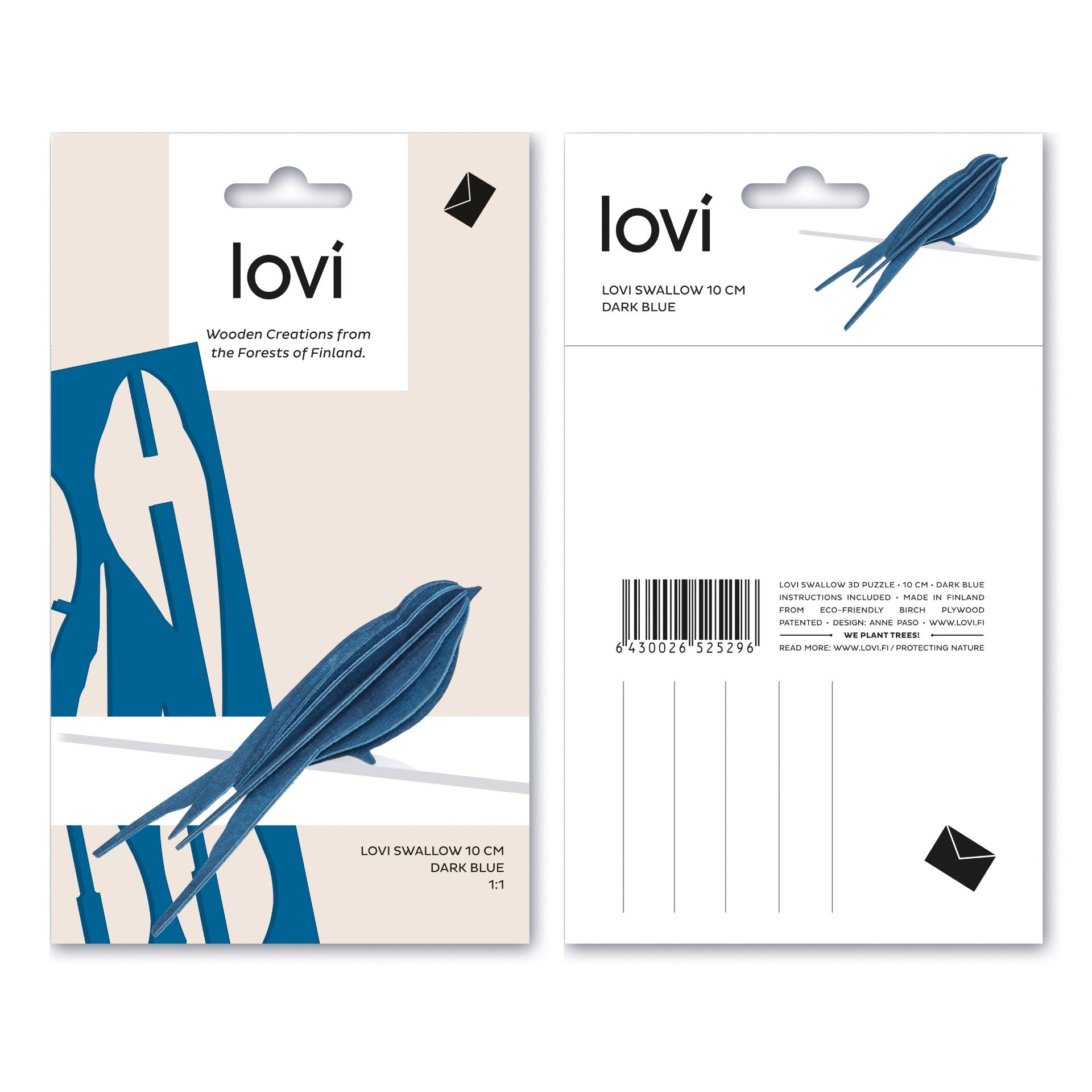 Swallow by Lovi, S size card