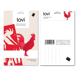 Rooster by Lovi, M size card