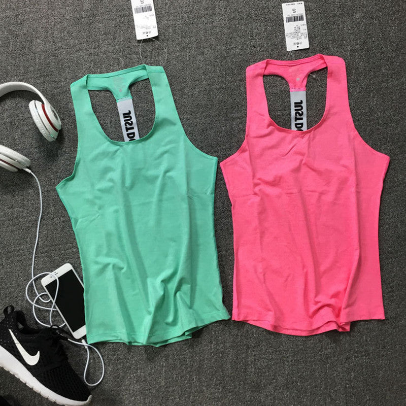 7 Color Women Fitness Race Back Tank Top
