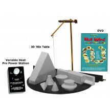 3D Pro 16 Inch Table Kit with Variable Heat Pro Power Station