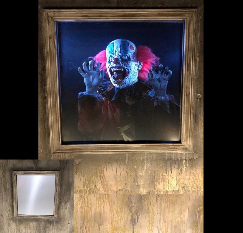 Clown Startle Scare Haunted House Animatronic