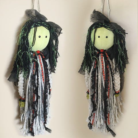 Handmade Mop Witch