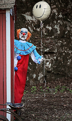 5 Ft Evil Clown Animatronic