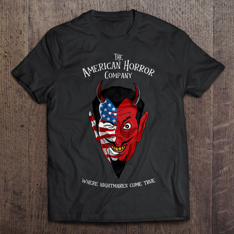 The American Horror Company Devil Shirt