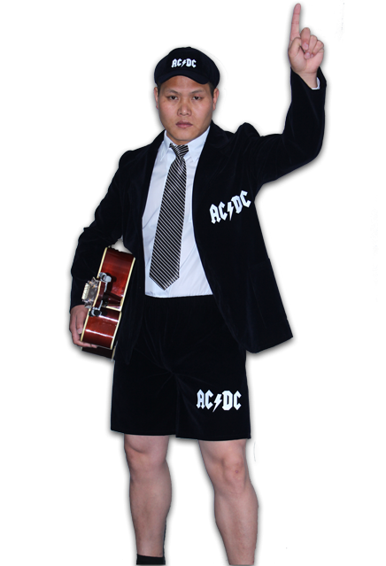 AC/DC - Angus Young Costume