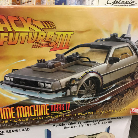Back To The Future Delorean Model