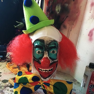 Horror Clown Bust