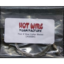 Four 4ft Bow Wires